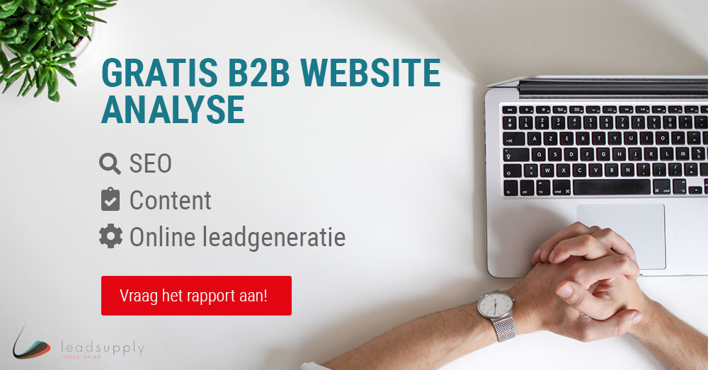 Gratis B2B website analyse